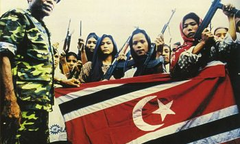 Women soldiers from the Free Aceh Movement. Photo: Wikimedia commons