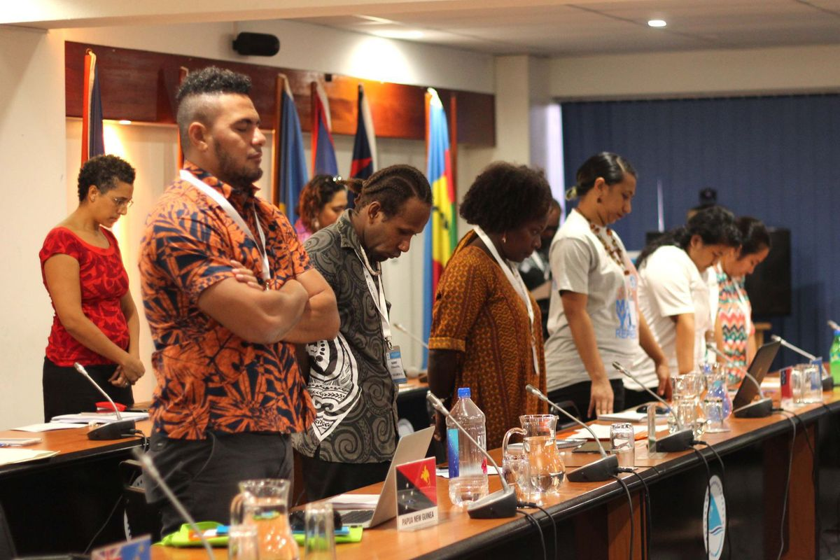 Pacific Youth Leaders Pay Tribute to Vanuatu Leader