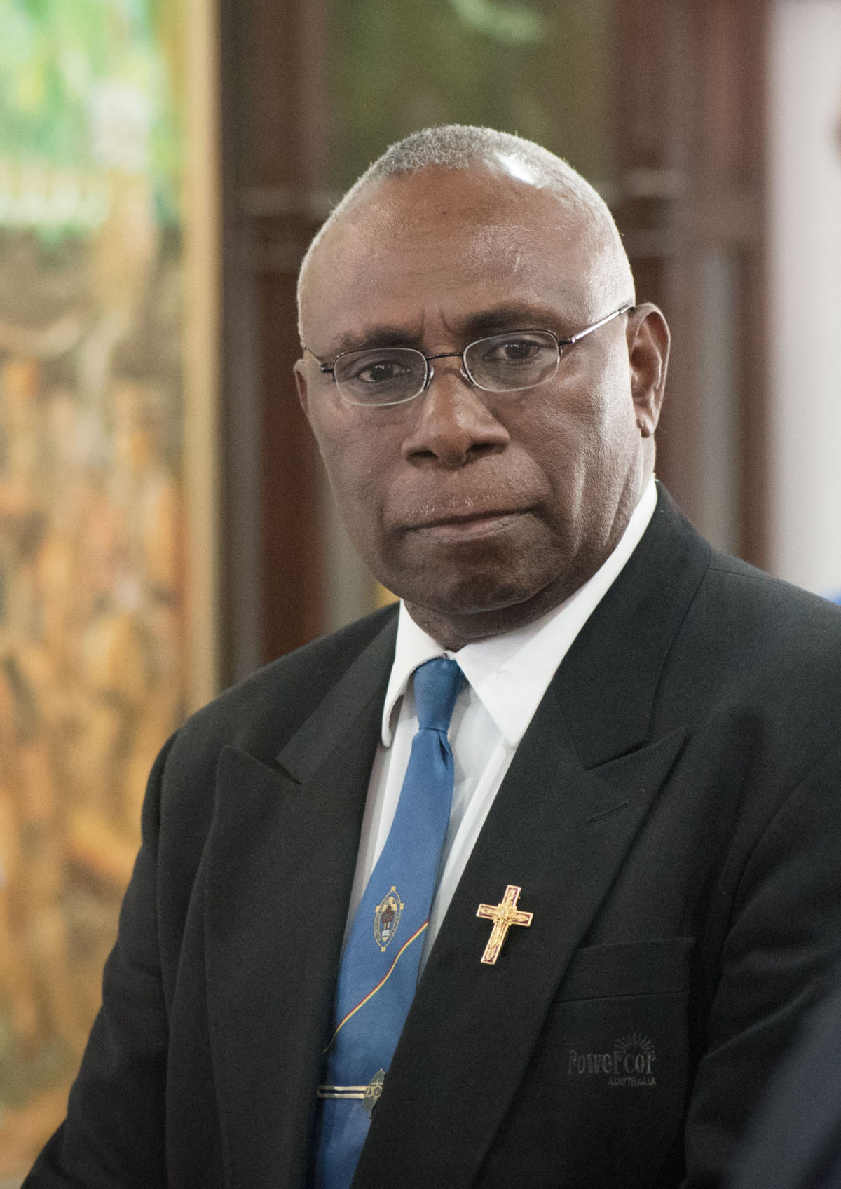 The New President of the Republic of Vanuatu: Obed Moses Tallis