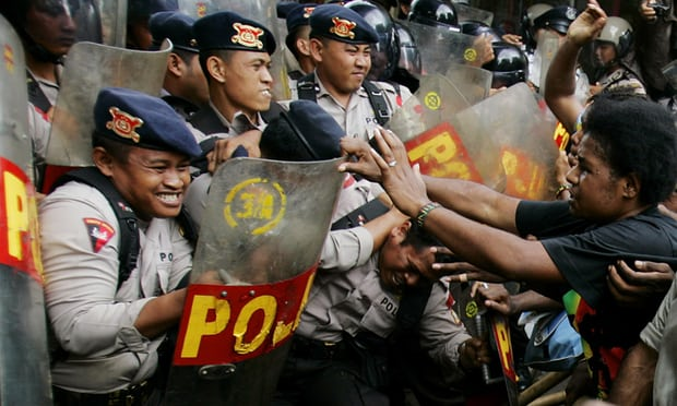 West Papua protest: Indonesian police kill one and wound others – reports