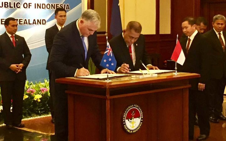 NZ and Indonesia move towards stronger defence ties