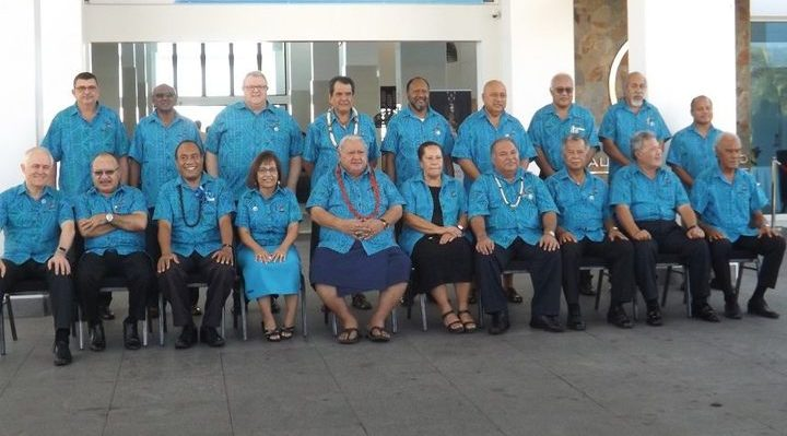 Pacific Leaders of the Pacific Islands Forum Photo: Tipi Autagavaia