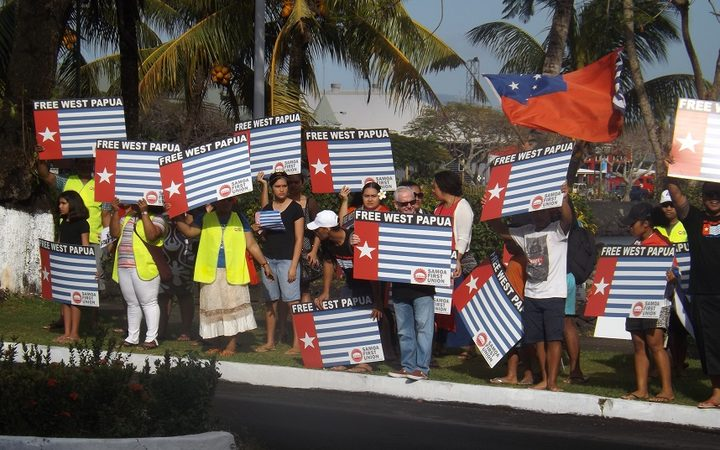 Second West Papua protest to go ahead at Forum summit