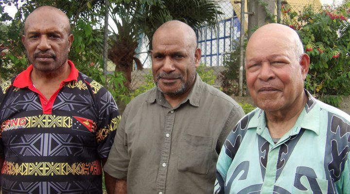 West Papua Summit: Benny Wenda, John Tekwe and Rex Rumakiek
