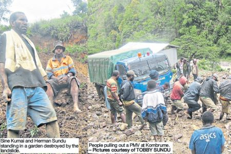 Gembolg landslide leaves 20 families without gardens