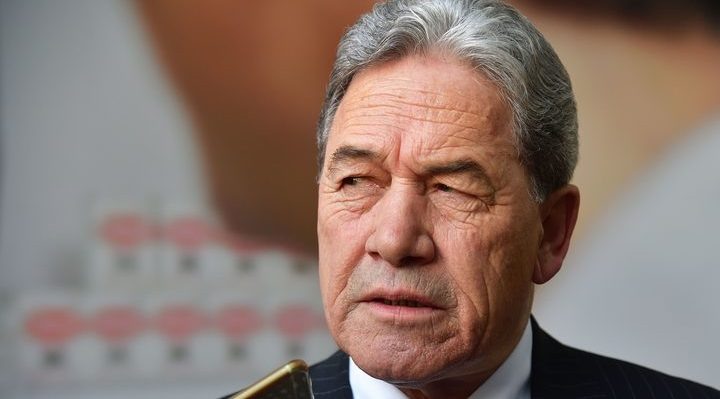 Winston Peters Photo: AFP