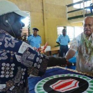 John Momis re-elected as Bougainville president, securing more than 50pc of votes