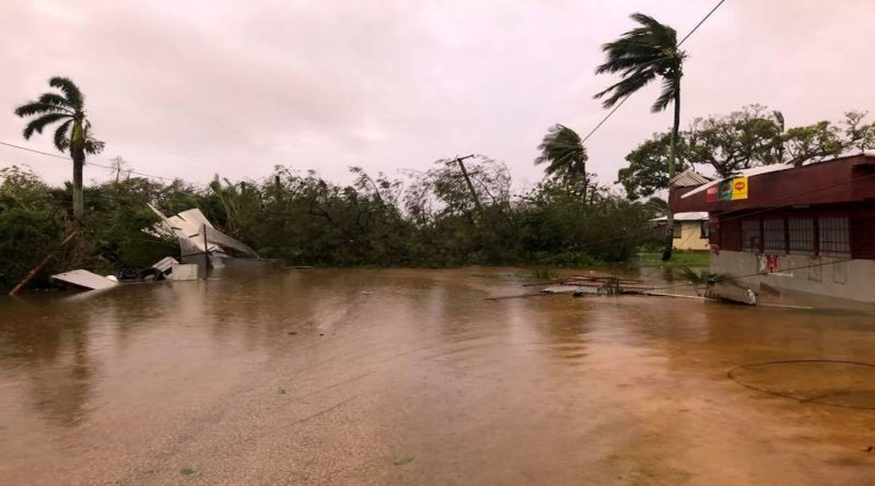 Tonga capital suffers widespread damage from Cyclone Gita