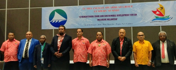 MSG ministers end PNG talks