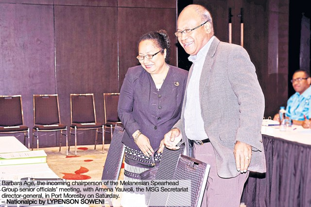 PNG to take over MSG chairmanship from SI