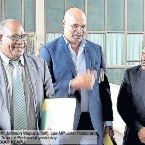 Register customary land, says PM Peter O'Neill