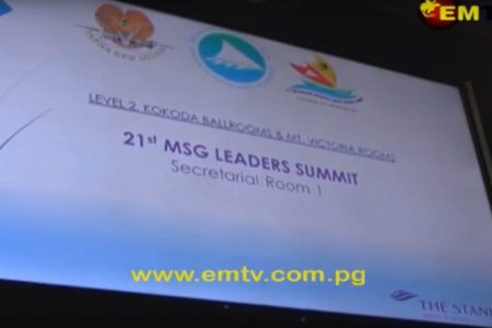 PNG Foreign Minister Chairs 21st MSG Foreign Ministers Meeting in Port Moresby