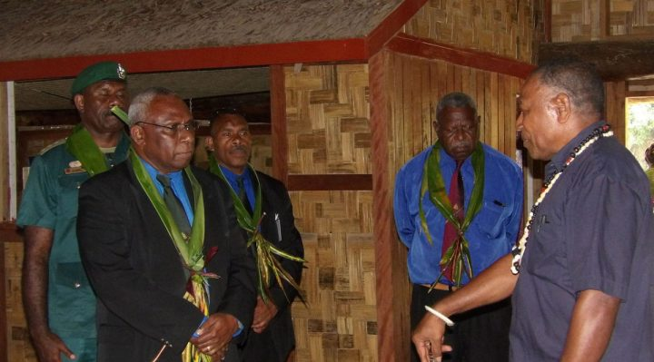 CHIEFS MEET HEAD OF STATE
