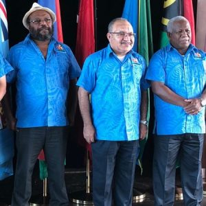 Melanesian Spearhead Group spat about Indonesia spills over
