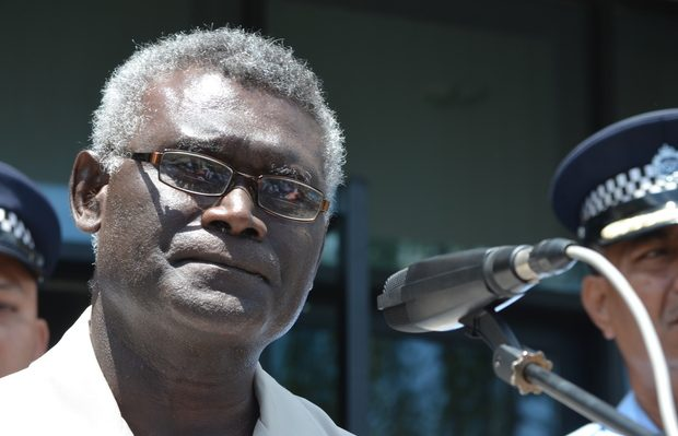 Manasseh Sogavare Photo: RNZI