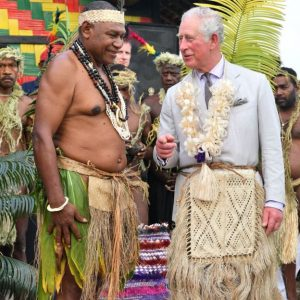Prince Charles gets new Chief title on Vanuatu