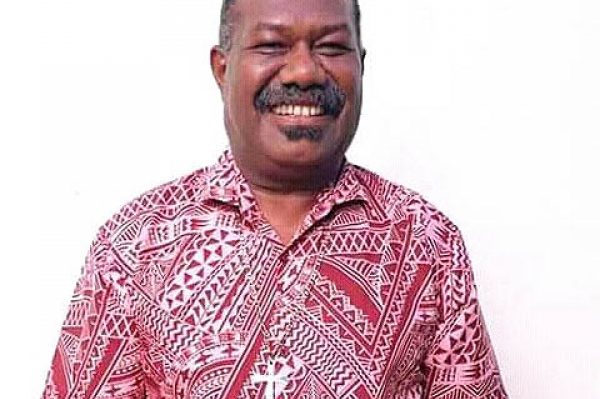 Bishop-Elect for the Diocese of Vanuatu and New Caledonia, Reverend James Tama.