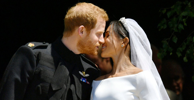 Prince Harry and Meghan Markle [Photo:People]