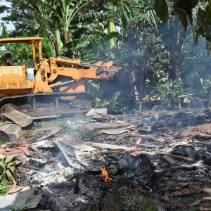 Port Vila, Mass Eviction