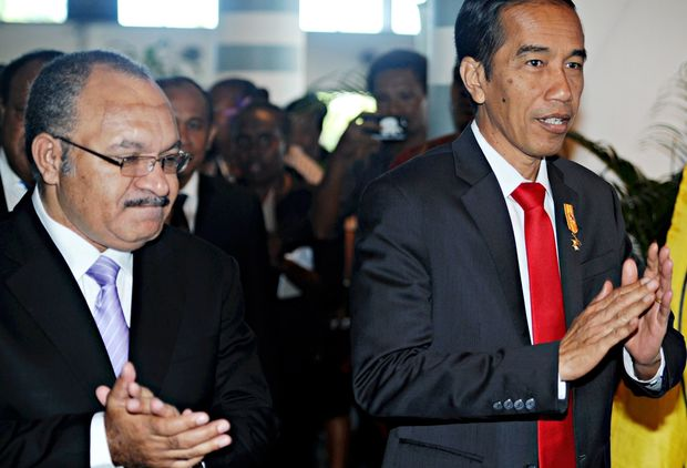 West Papua issue stirs during Jokowi's PNG visit