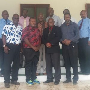 Declared Port Vila land owners visit President