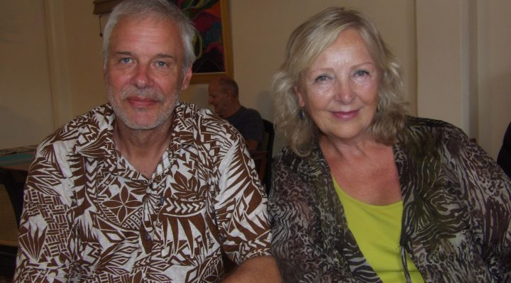 Honourary Consul Elisabeth van Vliet and husband Ronald Jonker