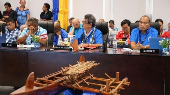 China delegate storms out on Nauru host at Pacific Islands Forum