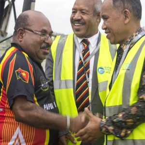 Governor of Indonesia's Papua seeks connection with PNG