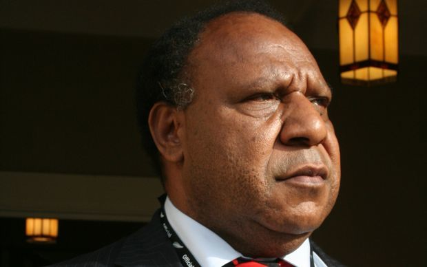 Papua New Guinea foreign minister Rimbink Pato. Photo: RNZI / Johnny Blades