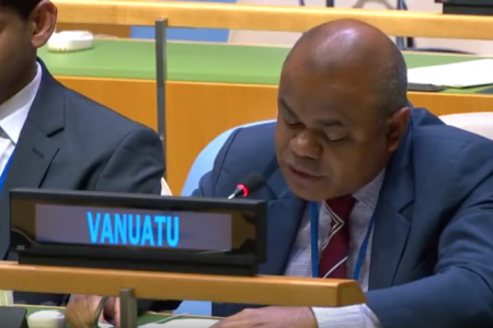 Vanuatu raises West Papua at UN