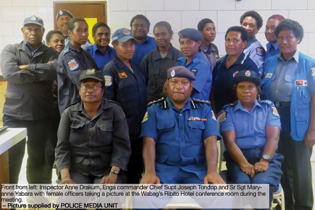 Policewomen told to rise up for conference