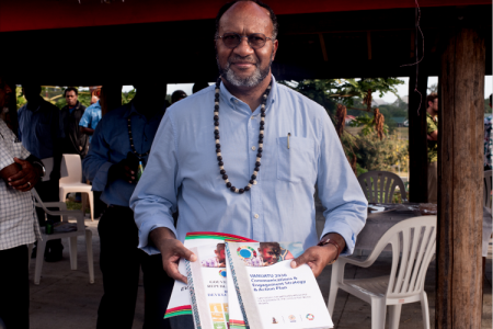 Vanuatu PM Launches Policy Documents
