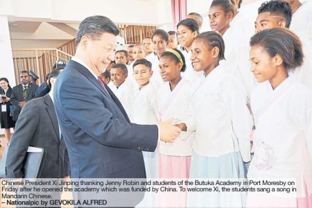 Memorable visit for Xi