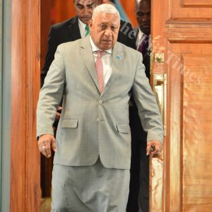 Bainimarama to be sworn in today as PM for the next four years