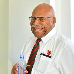 Rabuka is Leader of the Opposition in Fiji