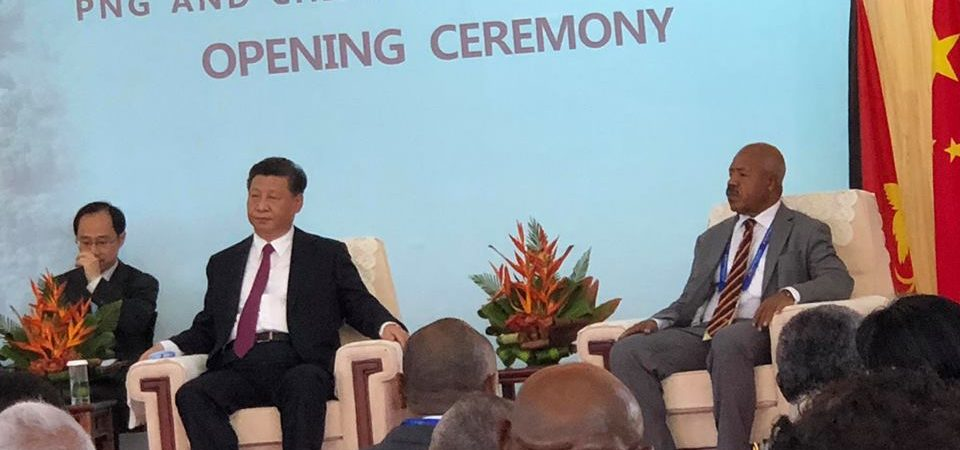 Speeches by Hon. Governor Powes Parkop, Chinese President Xi Jingping and Prime Minister Hon. Peter O'Neil