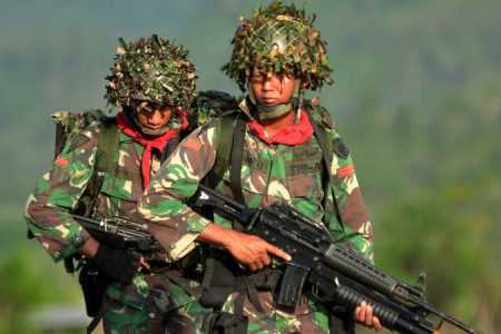 Indonesian soldiers clash with West Papua freedom fighters amid tensions over Papua highway