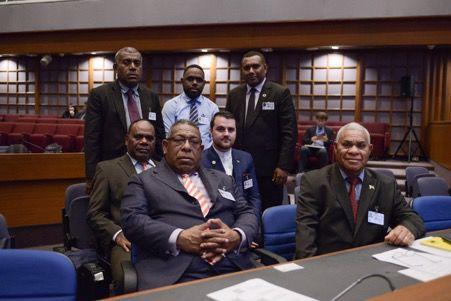 DPM Loughman leads delegation to 75th ESCAP Meeting