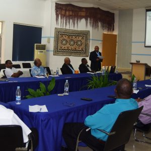MSG Secretariat Hosts Solomon Islands Government Parliamentary Task Force