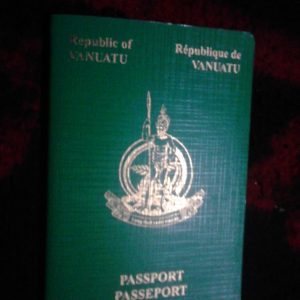 Sale of Vanuatu Passport Degrading: Sokomanu
