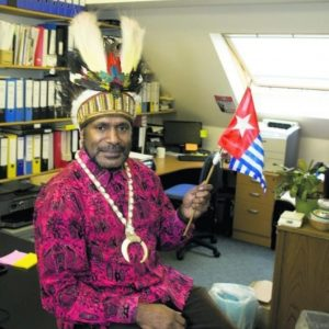 Benny Wenda: West Papua leader receives freedom of Oxford