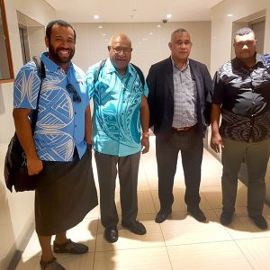 MSG Secretariat Advance Team Prepare for DF Meeting with PNG Government