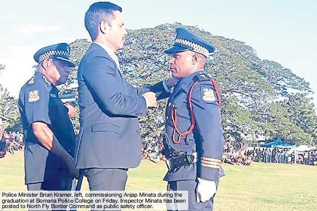 Officers told to serve Constitution, not Govt