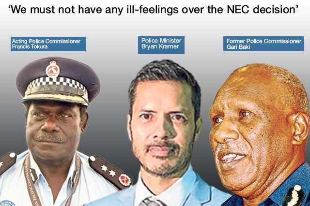 PNG Police Commissioner Post: Tokura, Baki to meet