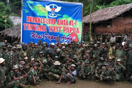 West Papua rebels unite to form new army