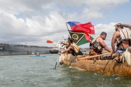 Pacific leaders declare climate crisis, demand end to coal