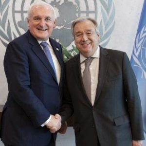 Ahern urges focus on post-referendum peace in Papua New Guinea