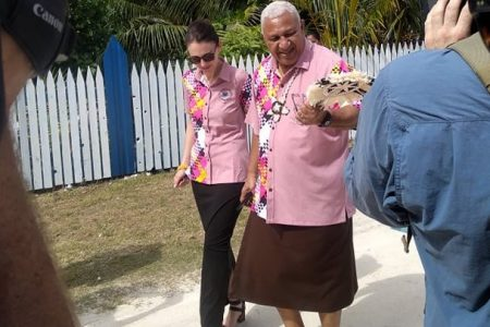 """Prime Minister Voreqe Bainimarama said that while Fiji heard the CSO's position """"loud and clear"""" on West Papua"""