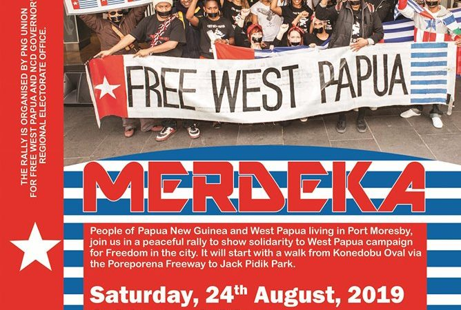 PNG Capital to Host Peaceful Demonstration to Show Solidarity to West Papua Campaign