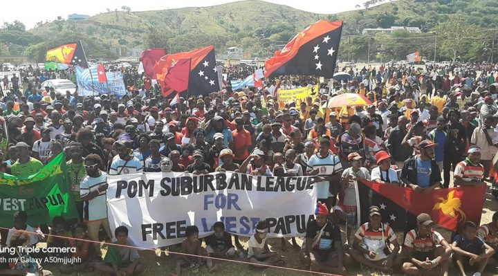 West Papua solidarity march in PNG draws thousands